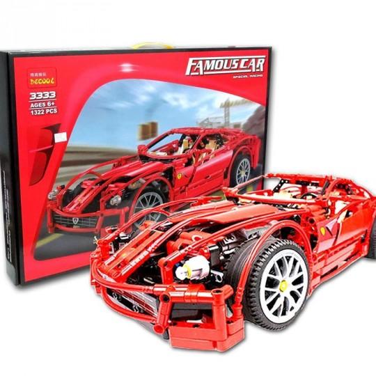 Конструктор Decool 3333 «Ferrari 599 GTB Fiorano»