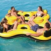 Надувной шезлонг для отдыха на воде Bestway