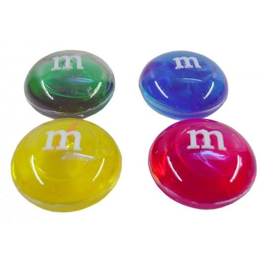 Лизун M&M прозрачный