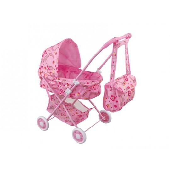 Кукольная коляска с сумкой