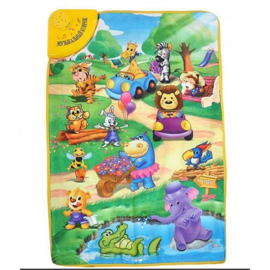 Музыкальный коврик «Веселый зоопарк»