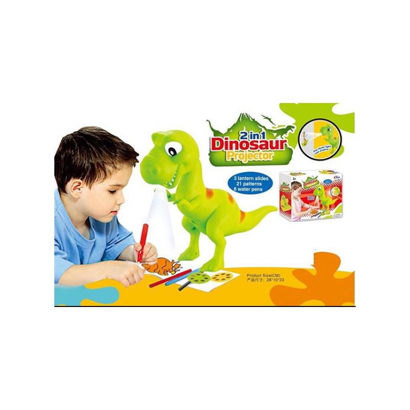 Проектор для рисования динозавр.