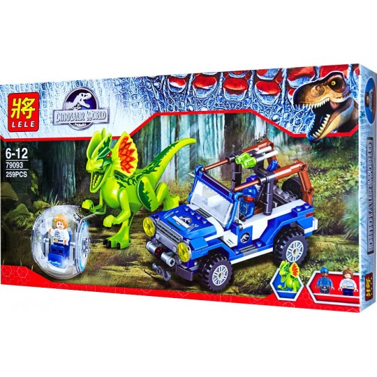 Конструктор LELE 79093 парк динозавров