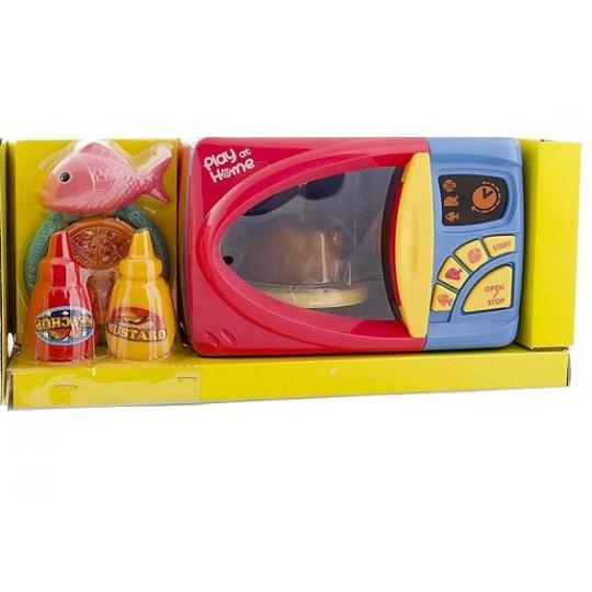 Микроволновая печь Play at Home с продуктами (свет, звук)