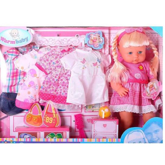 Кукла Warm Baby 05056