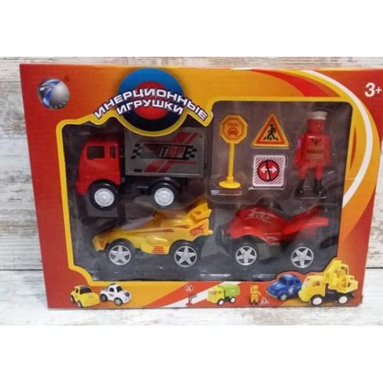 """Набор инерционных игрушек """"транспорт"""""""