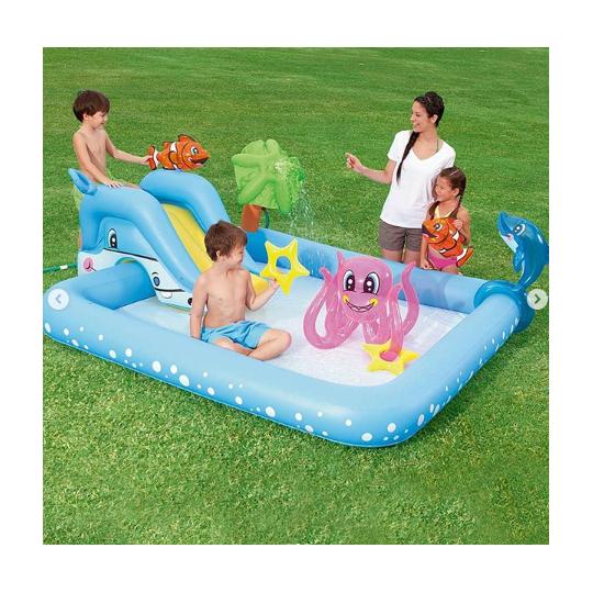 Игровой центр-бассейн с игрушками Bestway 53052