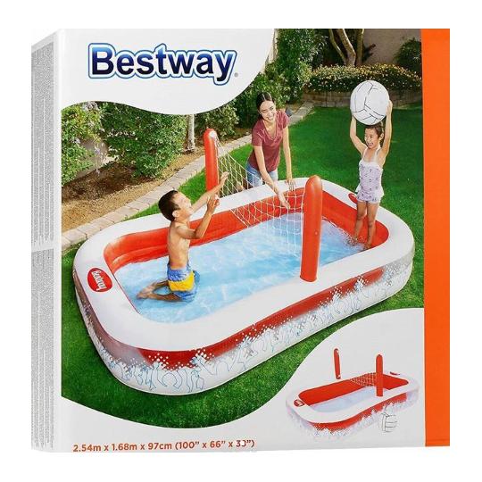 Бассейн надувной игровой Bestway Волейбол