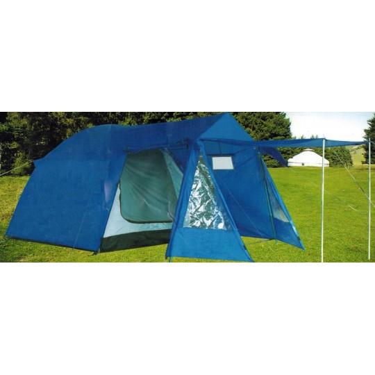 Палатка туристическая 4-Х местная LANYU 1704