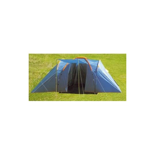 Палатка 6-ти местная 3-х комнатная LanYu 1699-3 540х385х190см