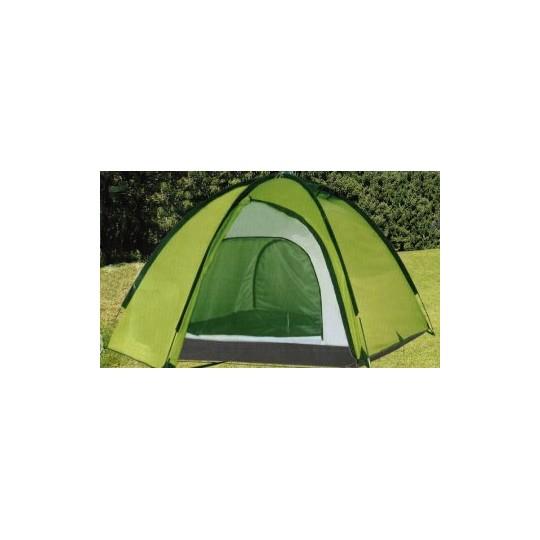 Палатка 3-х местная с 2 входами LanYu 1703 420х220х155см
