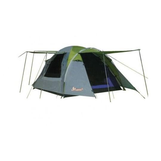Палатка туристическая 3 местная LANYU LY-1707 (350х210х165 см)