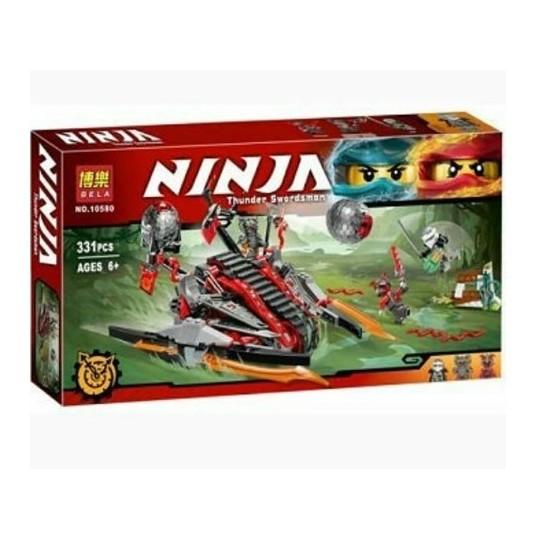 """Конструктор Bela Ninja 10580 """"Алый захватчик""""."""