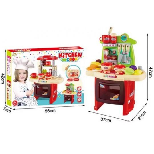 """Детская кухня """"Хозяюшка"""", световые и звуковые эффекты."""